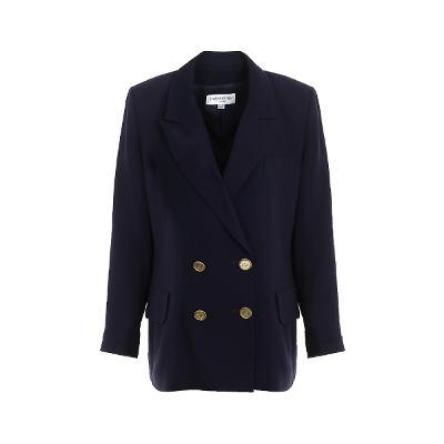 shoulder point double coat